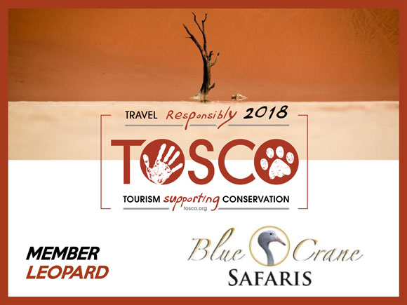 TOSCO Conservation certificate 2018
