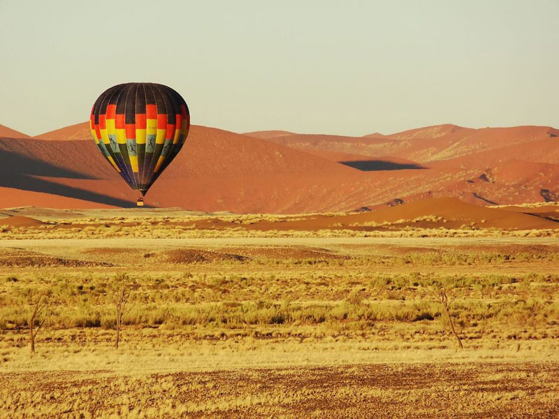 Hot air ballooning, Namib Rand Nature Reserve