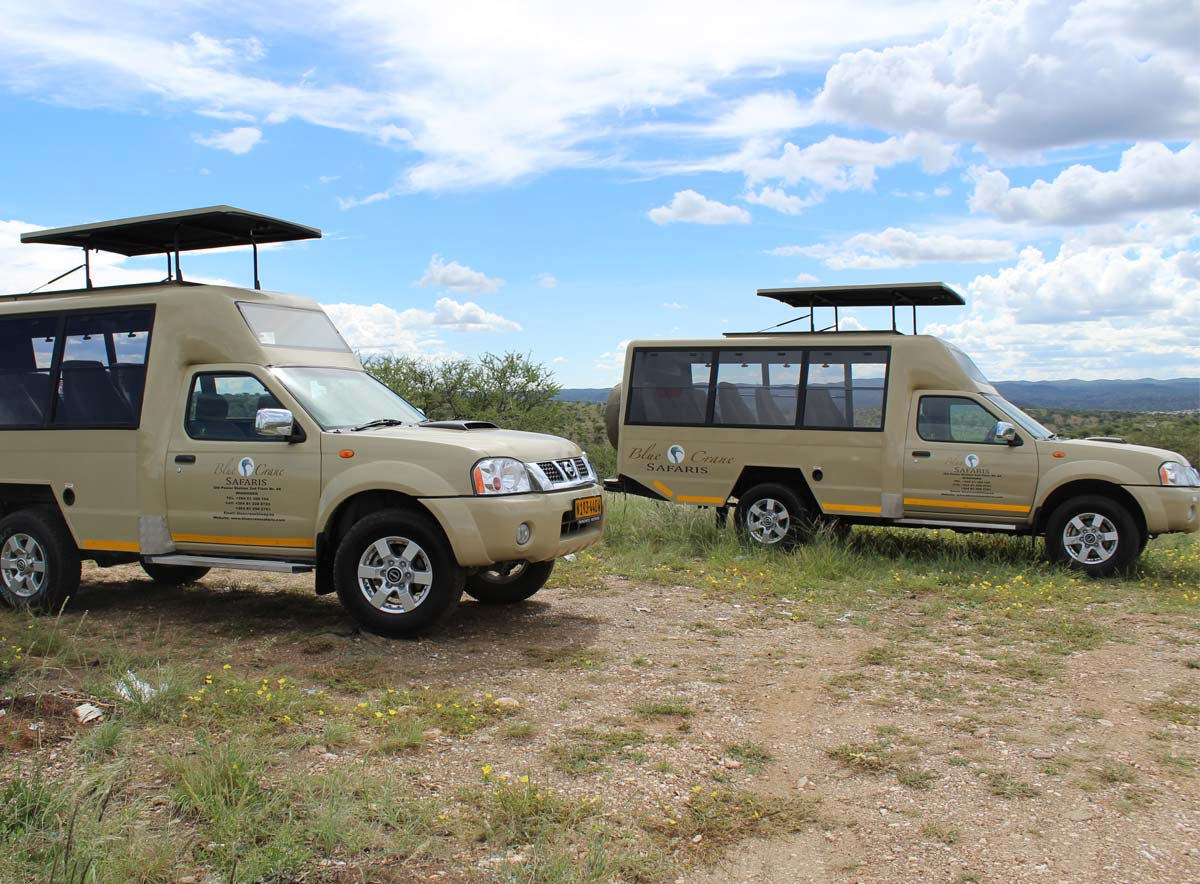Scheduled and camping tours